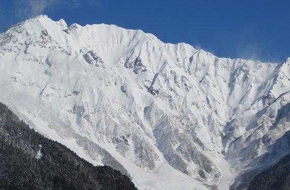 厳冬期の上高地