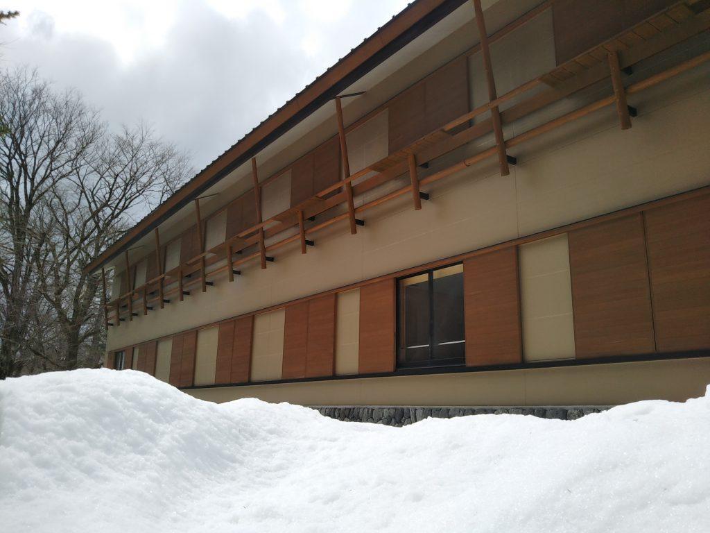 パークロッジ積雪状況