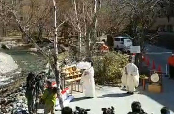 上高地開山祭(安全祈願式)が行われました