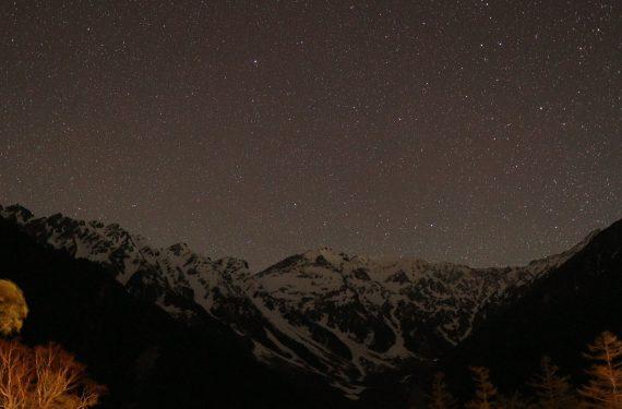 上高地の星空は宿泊のお客様だけの特権です! ナイトウォークで星空観察♪