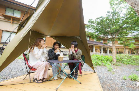 初めてでも大丈夫♪上高地で簡単『キャンプ飯体験』してみませんか?